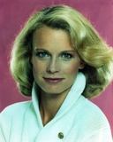 Shelley Hack Portrait in White Sweater Photo by  Movie Star News
