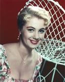 Shirley Jones Close Up Portrait in Floral Shoulder Dress and Pearl Necklace Photo by  Movie Star News