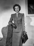 Myrna Loy posed in Formal Attire with Glove Photo by Gaston Longet