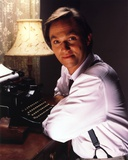 Richard Thomas smiling in Type Writer Photo by  Movie Star News