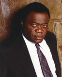Yaphet Kotto Pointing a Man in Black Suit Photo by  Movie Star News