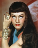Maria Montez Close Up Portrait Photo by  Movie Star News
