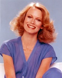 Shelley Hack Portrait in Blue Blouse Photo by  Movie Star News