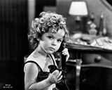 Shirley Temple On the Phone Classic Portrait Photo by  Movie Star News