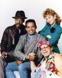 Mario Van Peebles Posed with Cast in Group Picture Photo by  Movie Star News