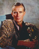 Peter Weller Stating in Brown Robe Photo by  Movie Star News