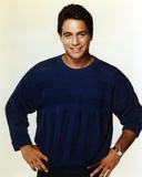 Tony Danza in Black Sweater White Background Portrait Photo by  Movie Star News