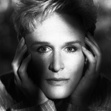 Glenn Close Posed Hands in her Face Photo by  Movie Star News