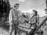 A scene from Cattle Queen of Montana. Photo by  Movie Star News