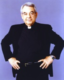 Tom Bosley Posed in Black Long Sleeve Polo Photo by  Movie Star News