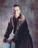 Peter Weller smiling in a Gold Robe Photo by  Movie Star News
