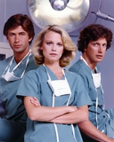 Shelley Hack Posed in Green Scrub Suit with Mask Photo by  Movie Star News