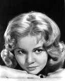 Tuesday Weld in a Close Up Portrait in Black and White Photo by  Movie Star News