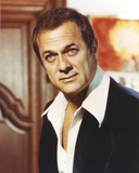 Tony Curtis Portrait wearing Black Suit Photo by  Movie Star News