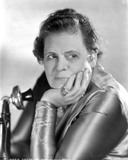 Marie Dressler Head Leaning on Hand in Classic Portrait Photo by  Movie Star News