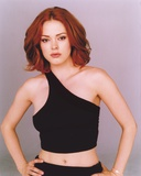 Rose McGowan Posed in Black Tank Top Photo by  Movie Star News