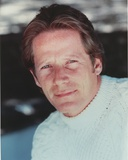 Peter Strauss Posed in White Sweater Portrait Photo by  Movie Star News