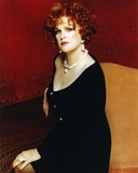 Sharon Gless sitting and posed Photo by  Movie Star News