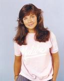 Justine Bateman smiling in Pink Shirt Photo by  Movie Star News