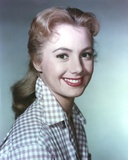 Shirley Jones Close Up Portrait in White Gingham Collar Shirt Photo by  Movie Star News