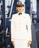 Tracy Needham in Officer Outfit Portrait Photo by  Movie Star News
