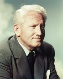 Spencer Tracy In Black Coat and Tie Photo by  Movie Star News