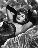 Shelley Winters Lying in Classic Photo by  Movie Star News