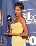 Toni Braxton in Yellow Dress Portrait Photo by  Movie Star News