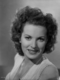 Maureen O'Hara Close Up Portrait smiling With a Necklace Photo by E Bachrach