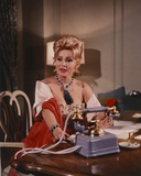 Zsa Zsa Gabor sitting Pose From a Movie Scene Photo by  Movie Star News