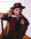 Spike Lee posed on Portrait Photo by  Movie Star News