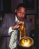 Wynton Marsalis Playing Trumpet in Portrait Photo by  Movie Star News