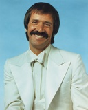 Sonny Bono Posed in White Long Sleeve Polo Photo by  Movie Star News