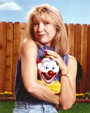 Teri Garr smiling Portrait Blue Sleeveless Shirt Photo by  Movie Star News