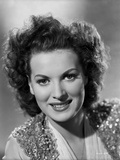 Maureen O'Hara Close Up Portrait wearing Glitter Vest Photo by E Bachrach