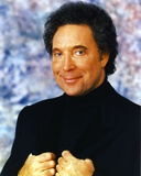 Tom Jones in Black Suit Photo by  Movie Star News