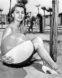 Sophia Loren Holding a Ball in a Classic Portrait Photo autor Movie Star News