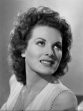Maureen O'Hara Close Up Portrait smiling White Blouse Photo by E Bachrach
