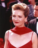 Joan Allen in Red Scarf Photo by  Movie Star News