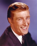 Richard Mulligan smiling in Tuxedo Portrait Photo by  Movie Star News