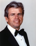 William Devane Posed in Black Suit with bow Tie Photo by  Movie Star News