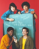 Welcome Back Kotter Group Picture in a Black Board Photo by  Movie Star News
