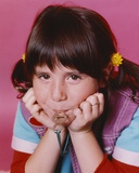 Soleil Moon Frye Bitting Key Close Up Portrait Photo by  Movie Star News