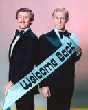 Smothers Brothers standing Group Portrait Photo by  Movie Star News