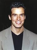 Antonio Sabato Jr Close-up in Gray Coat Foto af  Movie Star News