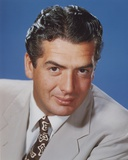 Victor Mature in Black Portrait Photo by  Movie Star News