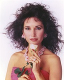Susan Lucci in a Pink Tube Dress with Necklace and Flower Photo by  Movie Star News
