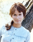 Susan Clark Posed in Blue Dress Photo by  Movie Star News