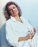 Susan Sullivan Posed in White Robe Portrait Photo by  Movie Star News