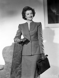 Myrna Loy posed in Formal Attire Photo by Gaston Longet